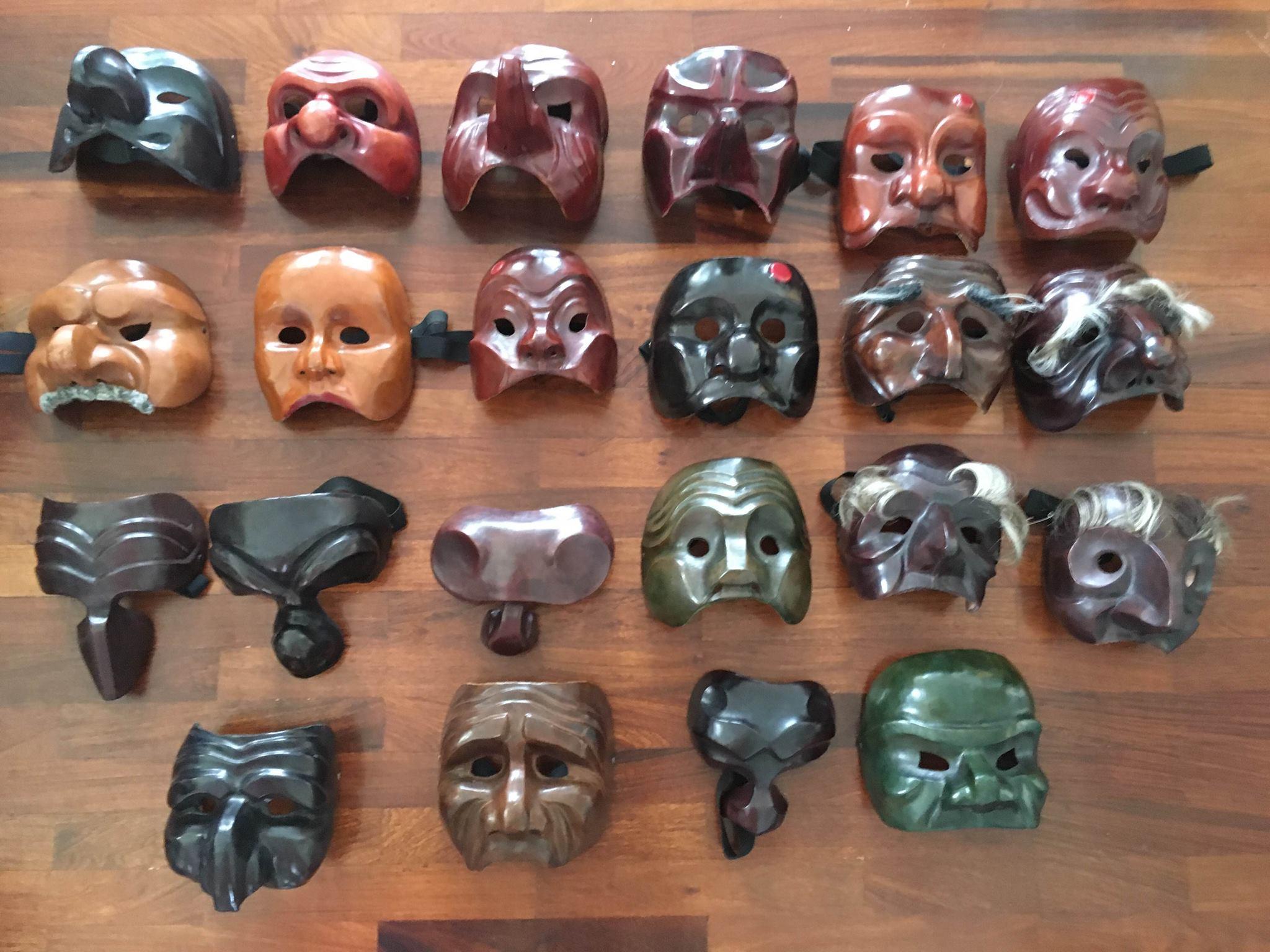 《發現「我」之可能》面具工作坊