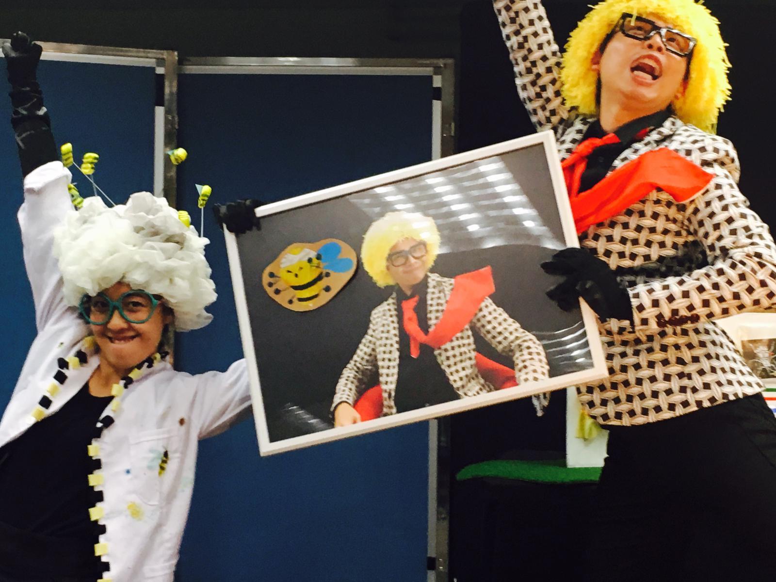 【快閃重演】《呢班Bees!》奇幻桌偶兒童劇場